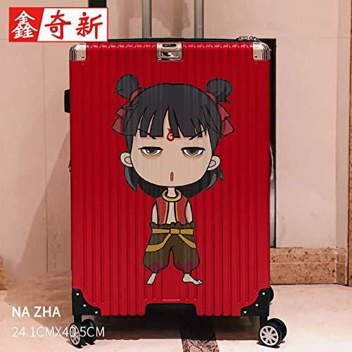 BLOUR bagage koffer sticker trolley geval muur plafond batterij auto sticker decoratie waterdichte sticker groot geheel