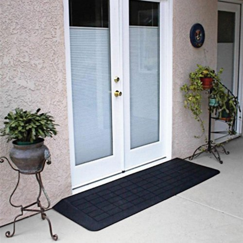 Prairie View RAEZ1110 Rubber Threshold - Slate Transition