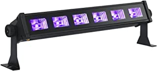 Black Lights for Parties, OPPSK Blacklights with 3W x 6 LEDs UV Bar Black Light Posters for Room Stage Tapestry Glow in the Dark Party