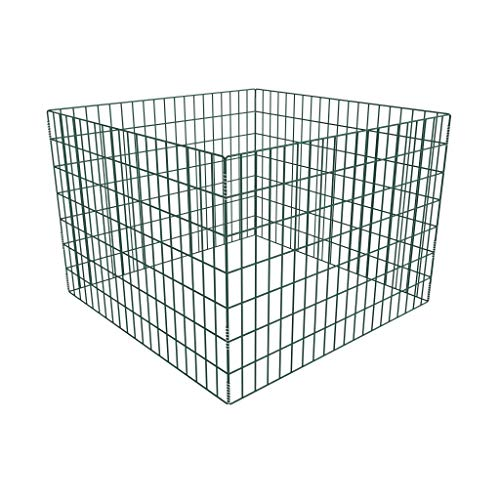 Best Price! Unfade Memory Minimalist Style Square Mesh Garden Composter