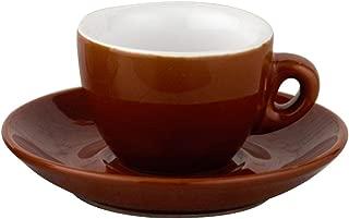 European Gift and Houseware Italian Style Moka Cafe Espresso Cups, 2-1/2-Ounce, Set of 6