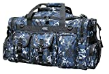 26' Tactical Duffle Military Molle Gear Shoulder Strap Range Bag TF126 DMBK Digital Camo Navy