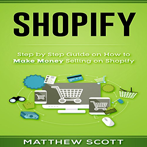 Shopify audiobook cover art