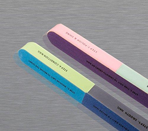 7 en 1 lime à ongles professionnelle New de 7 Way Nail Art manucure pédicure All in One Lime à ongles Design Accessoires