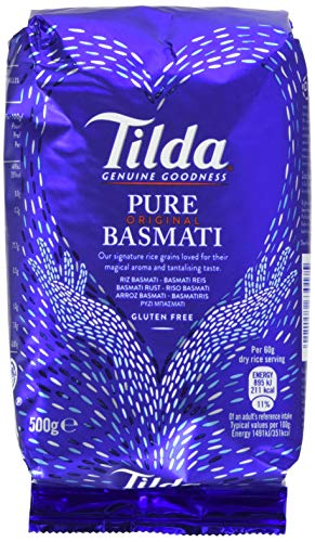 Tilda Pure Original Basmati Rice, 8er Pack (8x500g)
