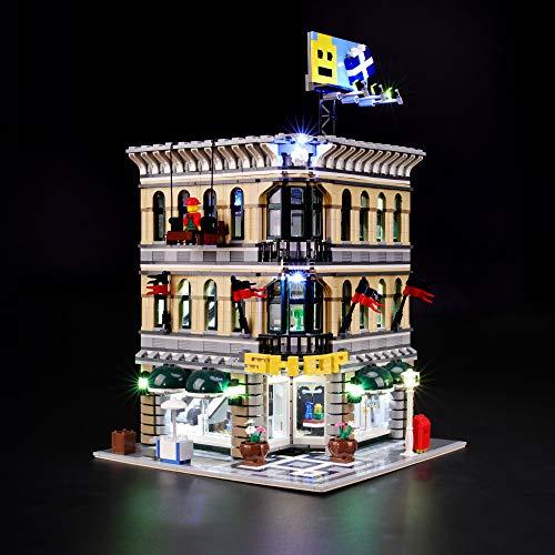 BRIKSMAX Led Beleuchtungsset für Lego Großes Kaufhaus, Kompatibel Mit Lego 10211 Bausteinen Modell - Ohne Lego Set
