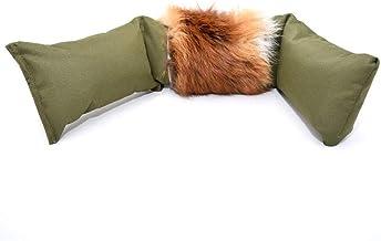 Firedog - Dummy de zorros con piel de zorro auténtica, 3 piezas, para el entrenamiento de apportero, 4000 g