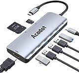 Adaptador USB C a HDMI, [4K @ 60Hz] Cable Adaptador portátil de Aluminio Tipo C a HDMI