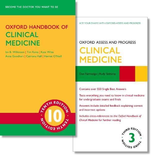 Oxford Handbook of Clinical Medicine 10e and Oxford Assess and Progress: Clinical Medicine 3e
