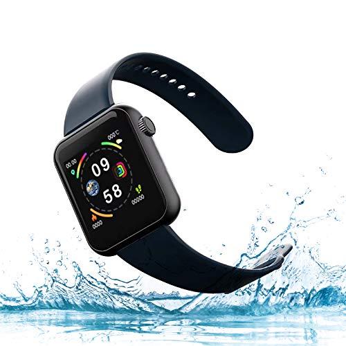 ROYACEC Smartwatch con Whatsapp Reloj Inteligente con Oxígeno Sanguíneo Presión Arterial Frecuencia Cardíaca, Pulsera Actividad Impermeable para Hombre Mujer para Android iPhone xiaomi