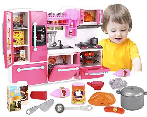 ML Cocina de Juguete para niños y niñas Set Juego cocinita Infantil...