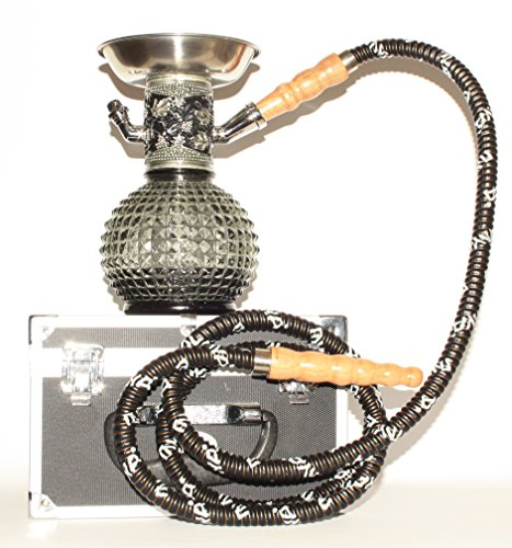 Shisha Wasserpfeife Shishas Rauchen Modell Mya Bambino Schwarz