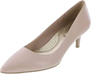 dexflex Comfort Nude Smooth Women's Jeanne Pointed-Toe Pump 7.5 Regular