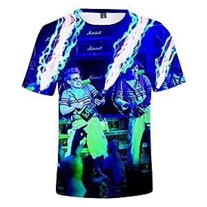 CYANDJ-Ghostbusters-T-Shirt à Manches Courtes Imprimé en 3D, VêTements D'éTé DéContractéS pour Enfants, Polo De Sport pour GarçOn, T-Shirt De Plage Unisexe à SéChage Rapide-110