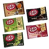 Kit Kat Japones Otona No Amasa con 5 sabores (Chocolate, Fresa, Houjicha, Té...