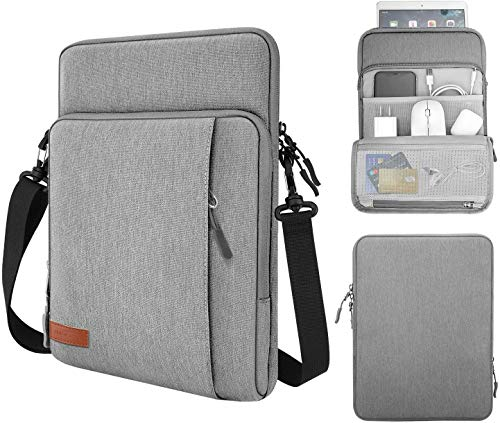 MoKo Sleeve Bag for 13.3 Inch Laptop, Carrying Pouch Portable Sleeve Case with Pockets Fits MacBook Air Retina 13.3 2018, MacBook Air 13.3 2019/2020, MacBook Pro 13.3 2020, iPad Pro 12.9' 2018/2020