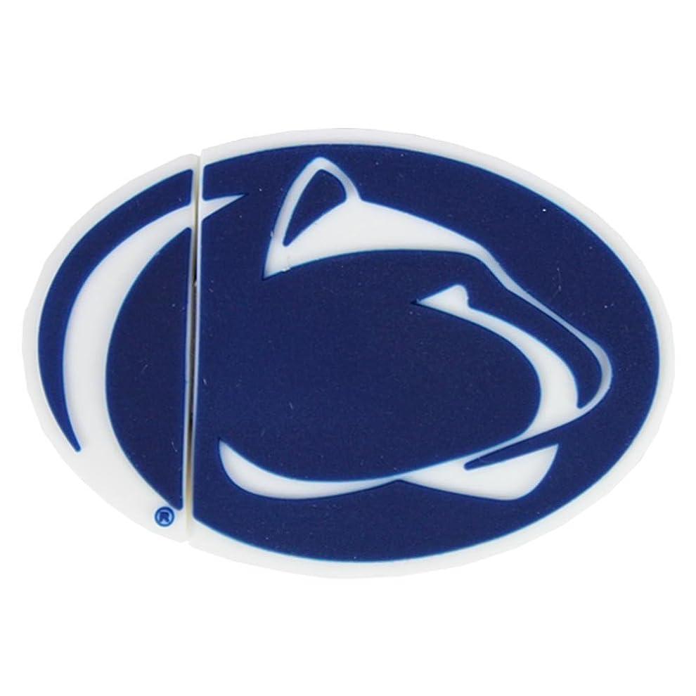 メルボルン業界スクラップNCAA Penn State 'Lion Head Shape' USB Drive [並行輸入品]