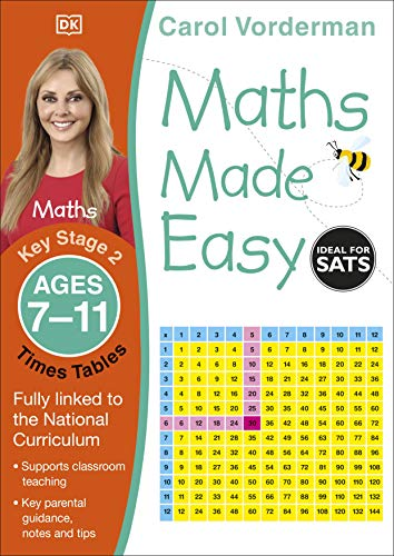Maths Made Easy Times Tables Ages 7-11 Key Stage 2 (Made Easy Workbooks)