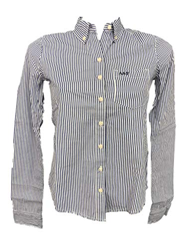 Abercrombie & Fitch - Camisa de manga larga para mujer