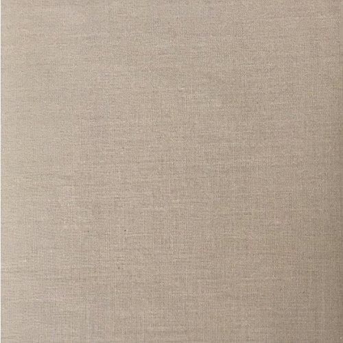 Einfarbiger Luxus-Polyester-Baumwoll-Bettbezug - Faltenvolant-Bettlaken, Polybaumwolle, latte, Super King