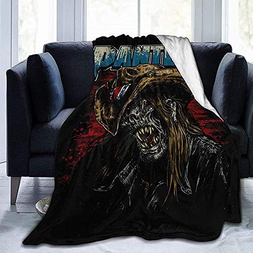 July Pantera Ultra-Soft Micro Fleece Blanket Winterdecke Warmhalten Blanket-2
