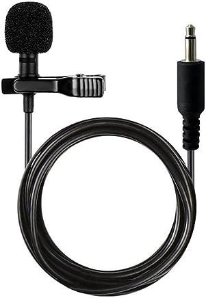 HUACAM Microfono a clip omnidirezionale a condensatore per computer Voip Skype Amplificatore vocale per laptop HCM-12 (Jack mono 3,5 mm) - Confronta prezzi