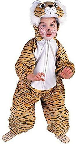 Kinder Kostüm Tiger zu Karneval Fasching Größe 128