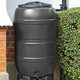 Capacità: 120 litri Tappo incluso Coperchio con serratura Plastica resistente e durevole