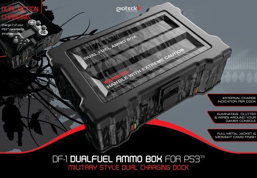 Ladestation Gioteck DF-1 Dual Fuel Ammo Box