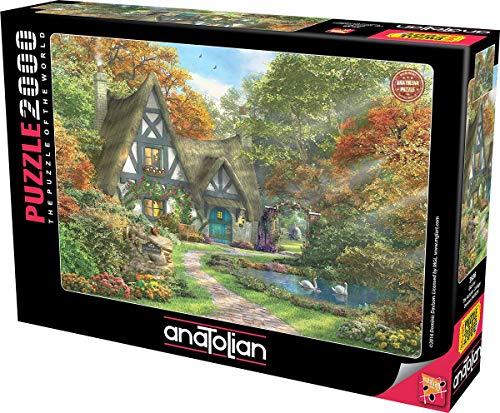 The Autumn Cottage Rompecabezas, Multicolor (ANA3936)