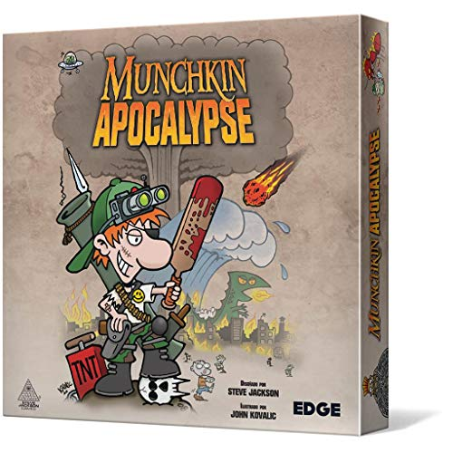 Edge Entertainment- Munchkin Apocalypse - Español, Color (EESJMA01)