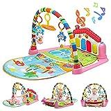 WYSWYG Baby Gym Play Mats para Floor, Kick and Play Piano Gym Centro...