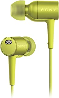 Sony MDR-EX750NA Yellow Noise Canceling Headphones with Microphone MDREX750NA