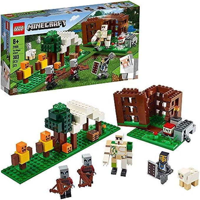 LEGO Minecraft פילאגר 21159 (new 2020)