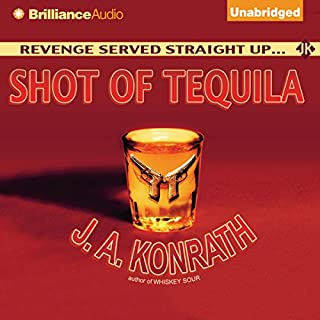 Shot of Tequila audiobook cover art