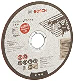 Bosch Mola da taglio Inox Rapido WA 60 T BF - 125 mm per smerigliatrice angolare...