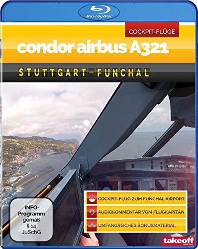 Condor Airbus A321 Stuttgart-Funchal - Cockpit-Flug [Blu-ray]