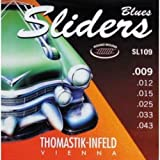 CUERDAS GUITARRA ELECTRICA - Thomastik (SL109) Sliders Blues Guitar (Juego Completo 009/043E)