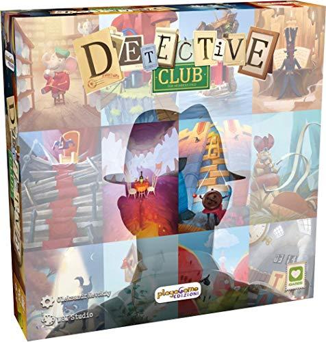 Playagame Edizioni - Detective Club - Italienische Edition
