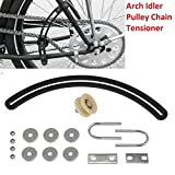 sthus Arch Idler Pulley Chain Tensioner For 2-Stroke 80CC Gas Motorized Bicycle