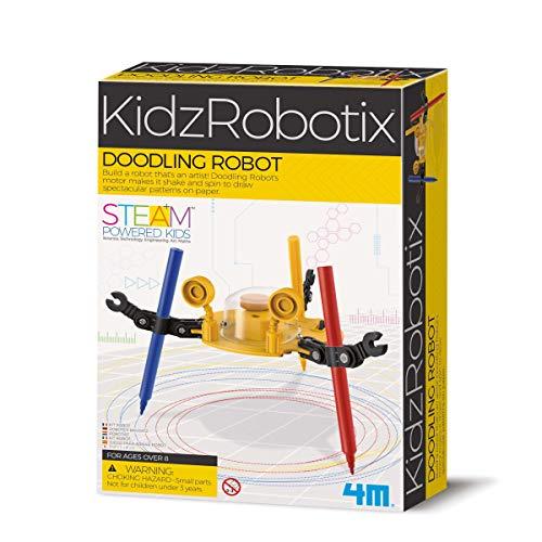 Robot Scarabocchio il robot artista