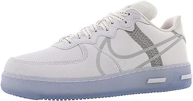 Amazon.com   Nike Mens Air Force 1 React White Ice Cq8879 100 ...