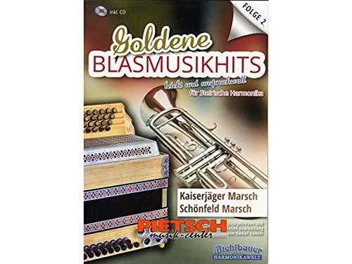 Michlbauer Harmonikawelt, Goldene BLASMUSIKHITS, Folge 2, incl. CD