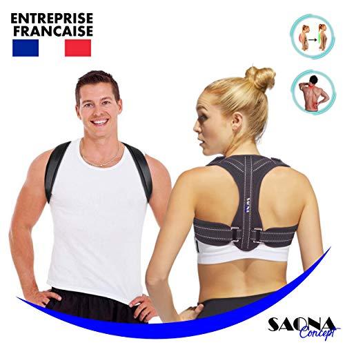 Saona Concept - Correcteur de posture - Redresse Dos - Soutien...