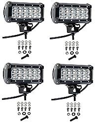 small Cutequeen 4 X 36W 3600 lumen SUV, SUV, ATV, SUV, boat, 4×4 lamp, tractor, marine LED floodlight …