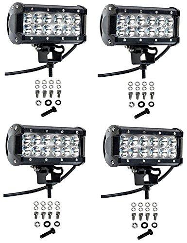 Cutequeen 4 X 36w 3600 Lumens LED Spot Light