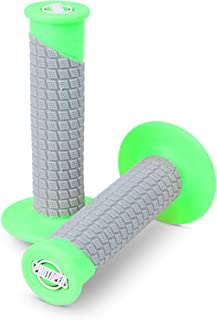 Pro Taper Clamp On Grips - Pillowtop (NEON Green/Grey)