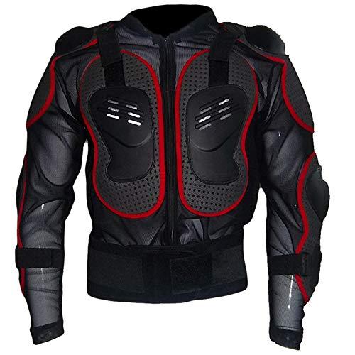 HBRT Armadura de Cuerpo Completo de la Motocicleta, Equipo de protección de la Columna Vertebral, Equipo de Ciclismo Profesional para Esquiar a Caballo,XXL