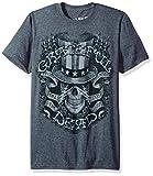 Liquid Blue unisex adult Grateful Dead Memorial Ball Room Short Sleeve T-shirt T Shirt, Dark Grey Heather, XX-Large US