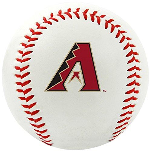 Rawlings MLB Arizona Diamondbacks Team Logo Baseball, Official, White